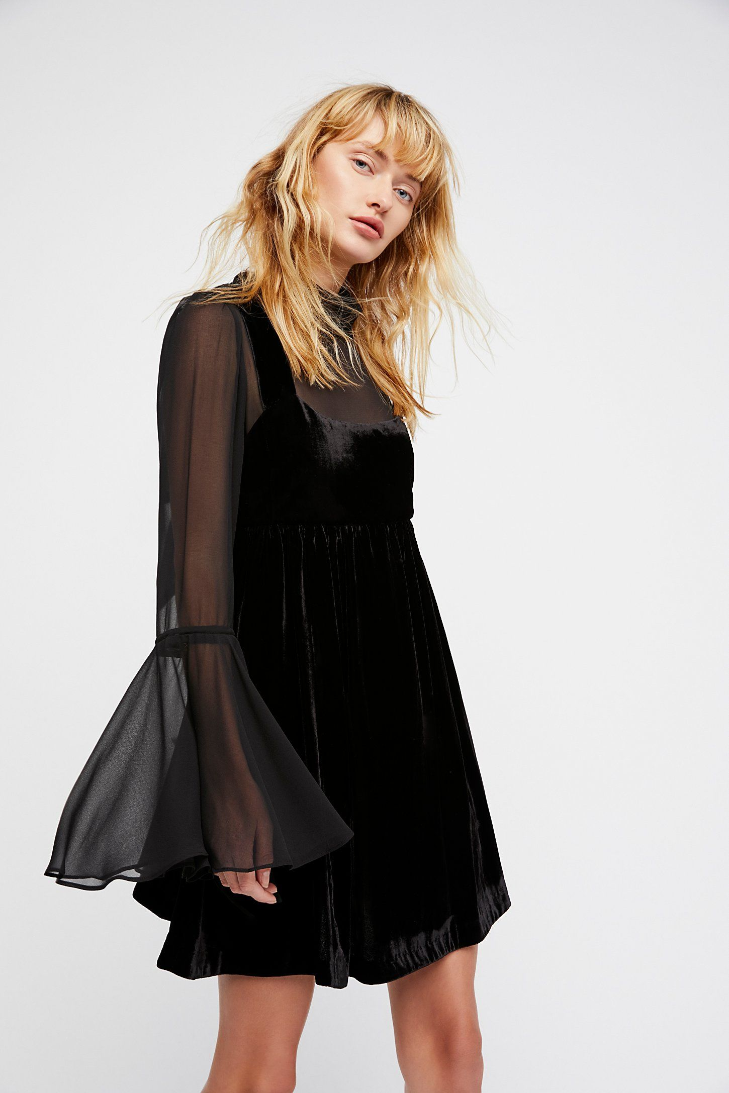 Big Sale Big Discount Counting Stars Mini Dress - Black Free People Explore Cheap Sale Prices ZREZVijS
