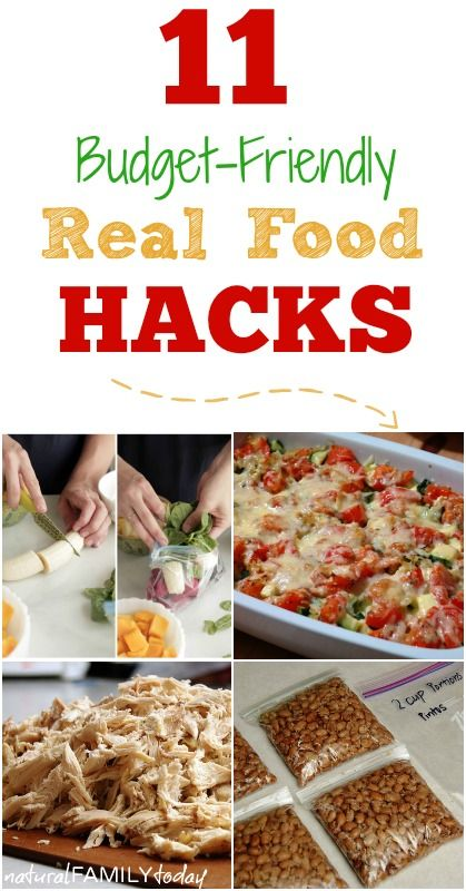 Do you feel like you are spending way too much time in the kitchen trying to cook real food? Maybe you feel like you are spending too much money on real food and you want a few ideas for how to make the budget stretch. If so, you're going to love these budget-friendly real food hacks!