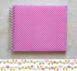 handmade contemporary Baby Journal