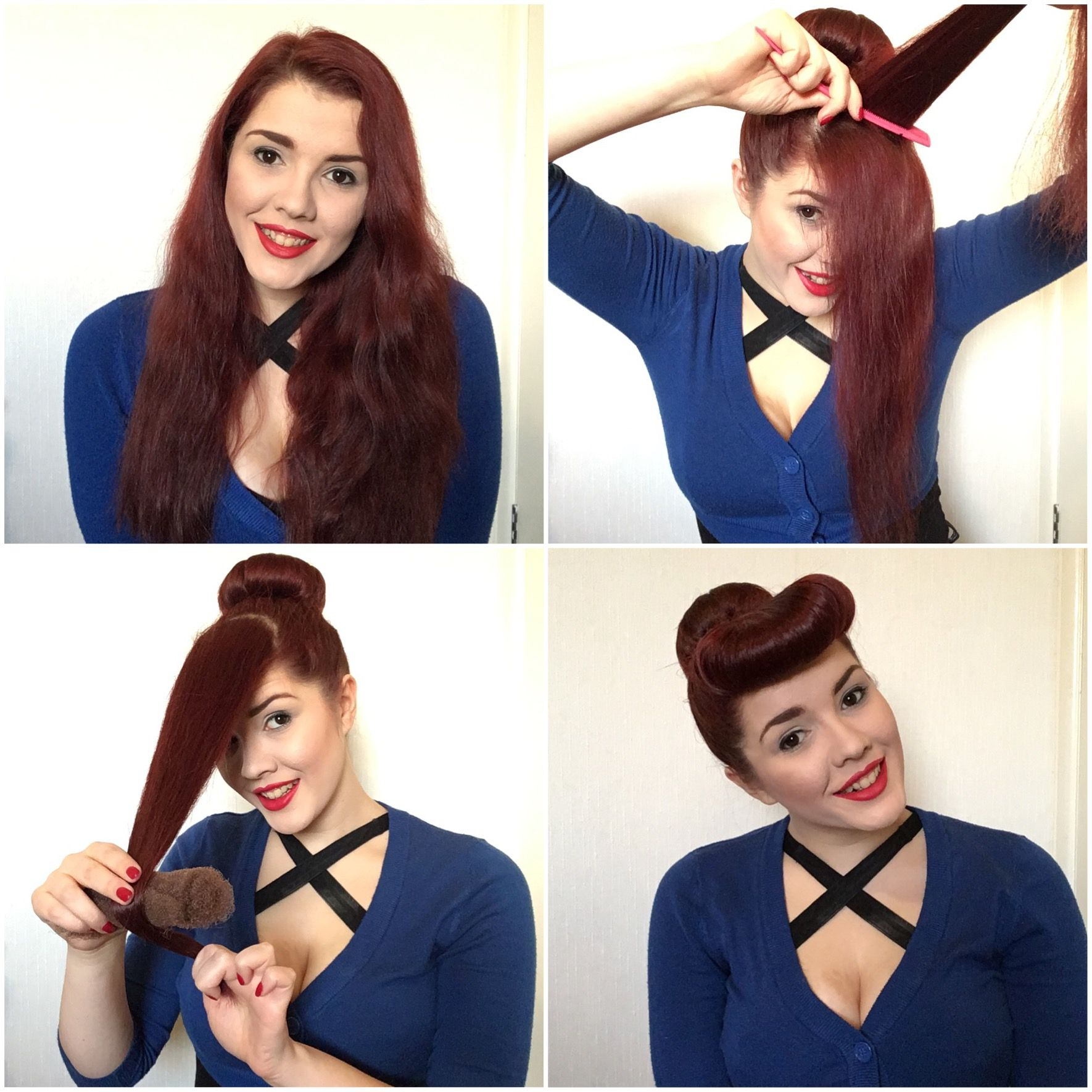 Photo of Bumper Bang Tutorial! Scarlett Luxes topp vintage stylingtips!