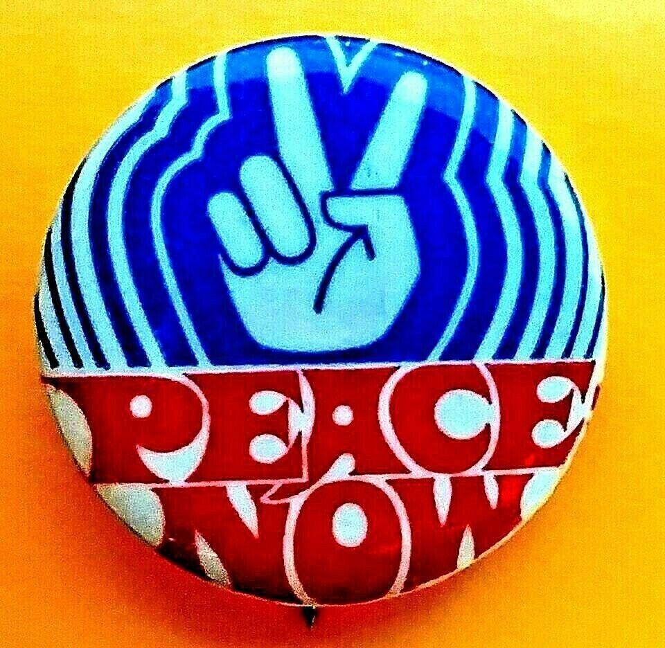 March on Washington rare original Vietnam-era bumper sticker