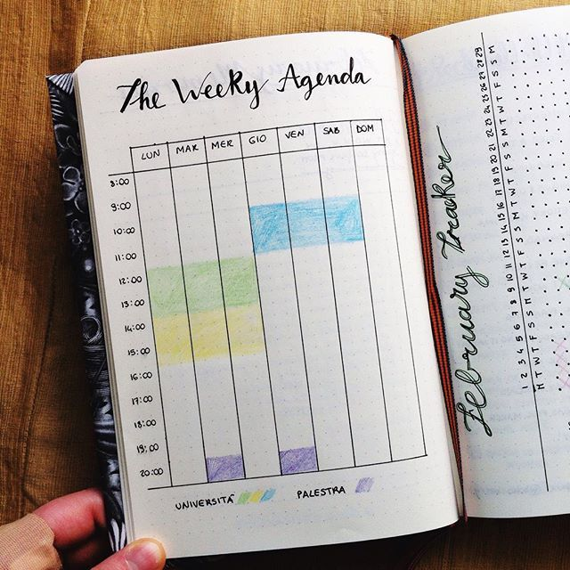 #PlanWithMeChallenge Day 5: Experimenting I'm about to start the new semester next week, so I decided to block my classes in order to organize my days more easily. Still not sure if it will work.