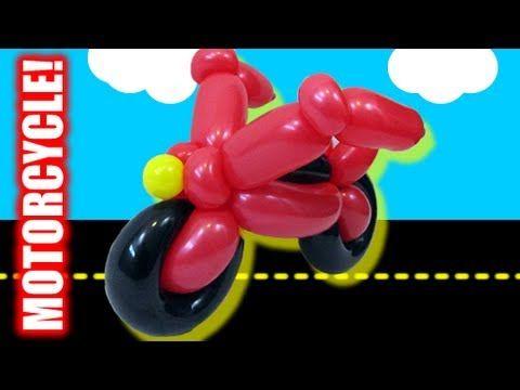 Tutorial Tuesday - Motorcycle Balloon Animal! Globos Pinterest
