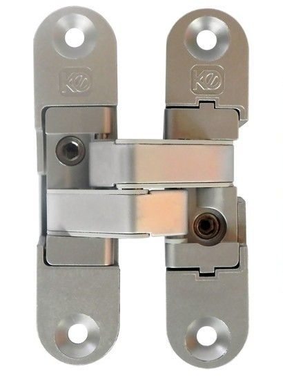 Koblenz K6900 Door Hinge Finishes : Satin Chrome & Satin