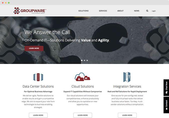 Groupware Technology Web Design Web Design Studio Web Design Agency