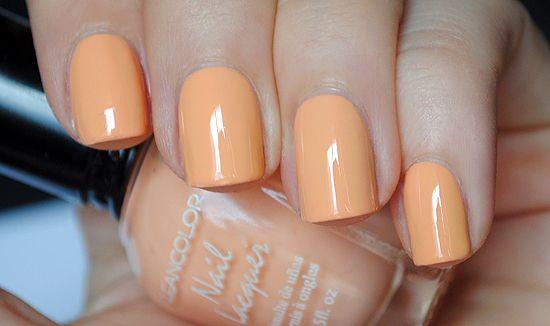 Spring Pastel Nail Polish Kleancolor Pastel Orange Like Push Pop Sherbet Nail Polish Tangerine Nail Polish Orange Nail Polish