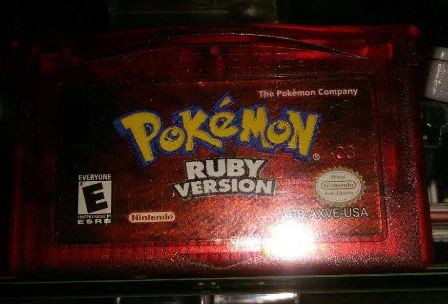 Pokemon Rubino #gameboyadvance #gameboyadvanceSP #NintendoDS