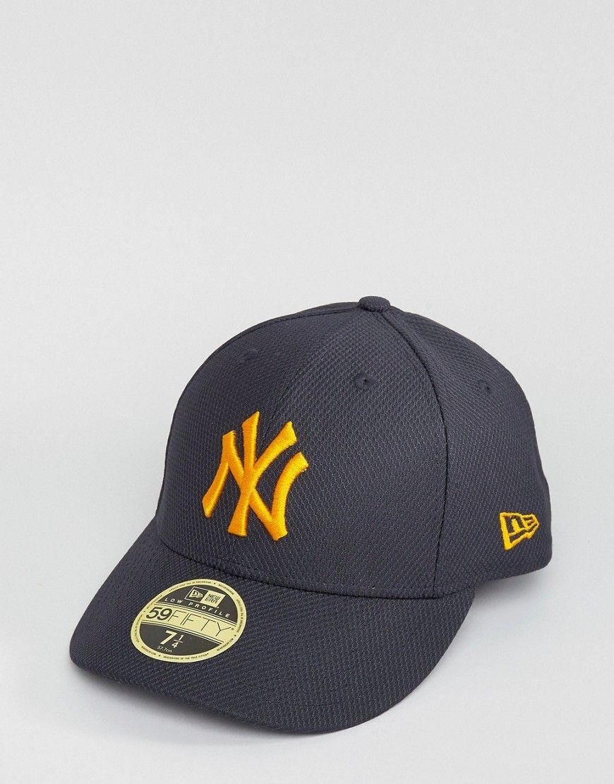 bf74966bf30ac New Era 59Fifty Fitted Cap NY Yankees Diamond Era with Low Crown - Nav