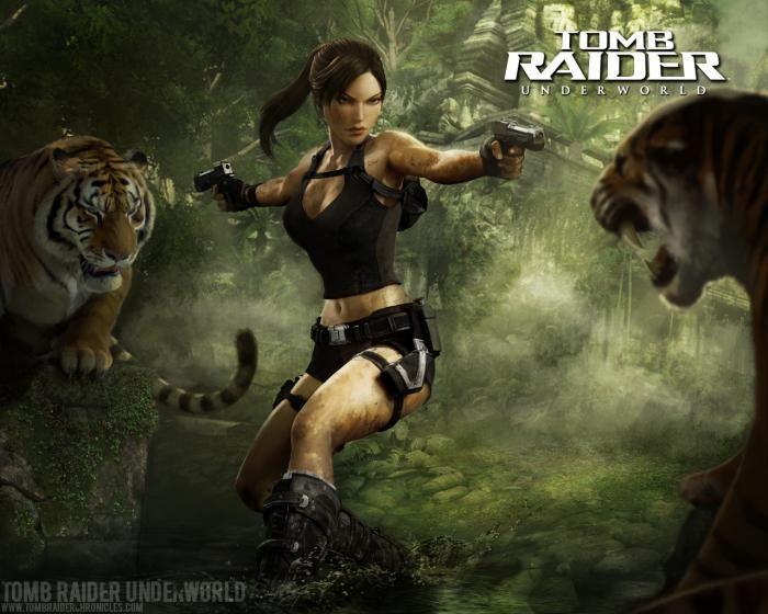 Old School Tomb Raider