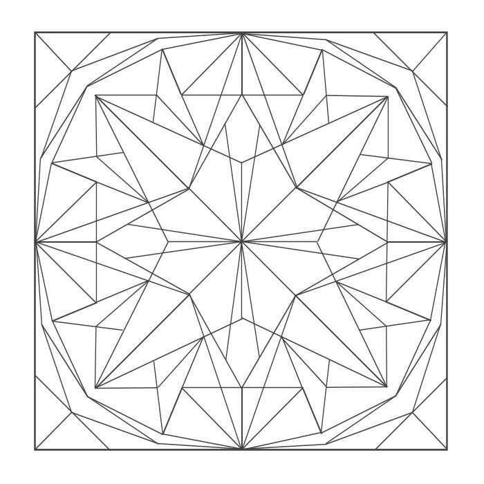 Coloring Mandalas: 09 Topaz | coloring pages | Pinterest | Mandalas ...