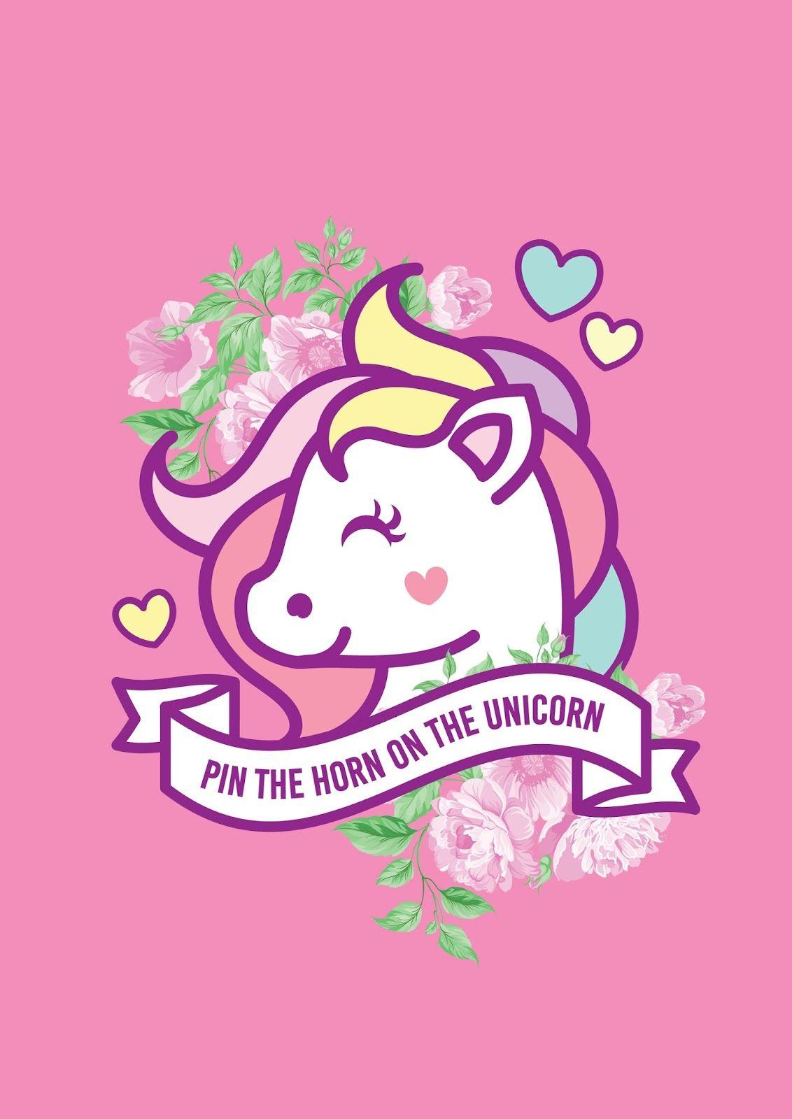 Juego Ponle El Cuerno Al Unicornio Para Imprimir Gratis