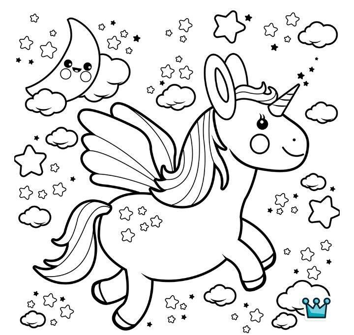 Unicornio Mandalas Para Ninos As Unicornios Para Pintar