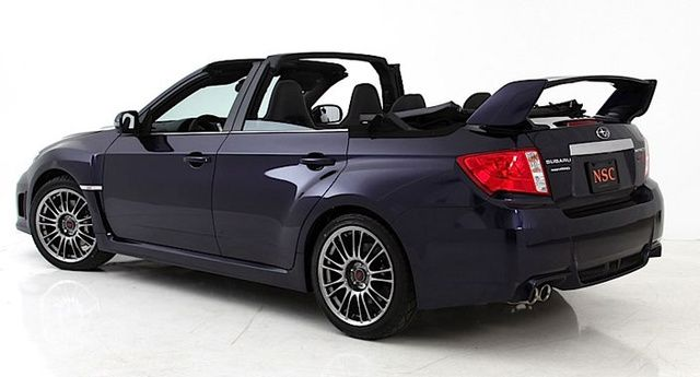 One Off Custom Subaru Wrx Sti Impreza Convertible