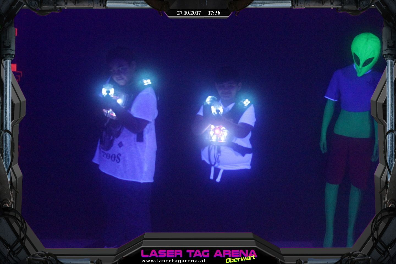 Lasertag - 27.10.2017 - 17:36 Uhr  #Lasertag #Oberwart