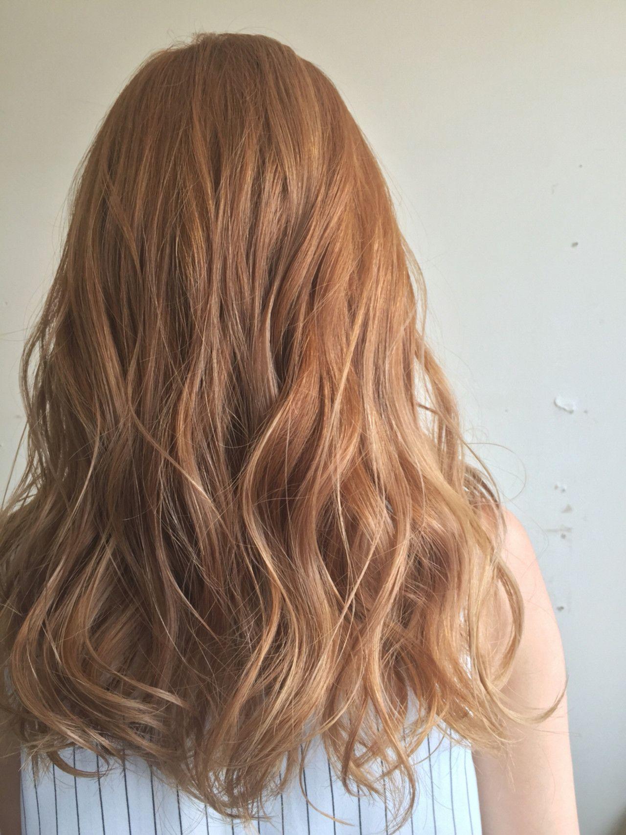 オレンジ系のヘアカラーで今っぽアクティブな印象に お手軽イメチェンしよ ヘアスタイリング ヘア アイディア 髪色 オレンジ