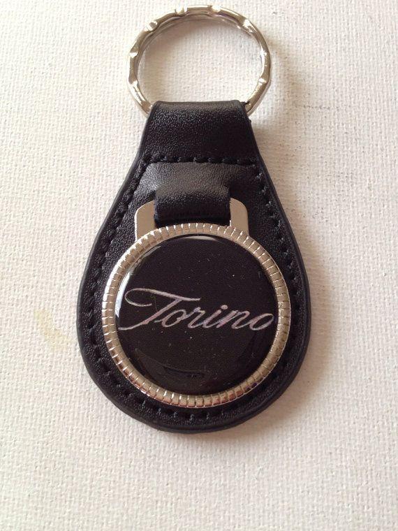 Ford Torino Keychain Genuine Leather Key Chain By Katskeychains