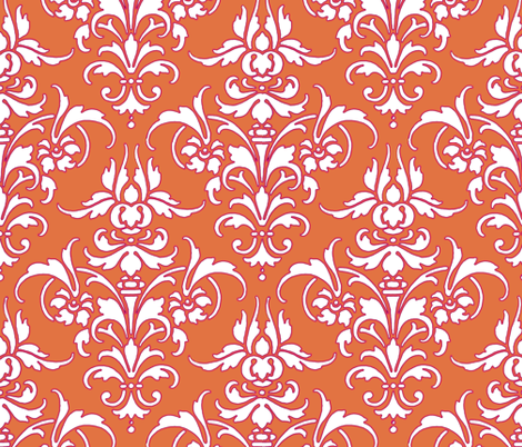 Jessie  ~ by PeacoquetteDesigns on Spoonflower ~ bespoke fabric, wallpaper, wall decals & gift wrap ~ Join PD  ~ https://www.Peacoquette.com  #Spoonflower #Peacoquette