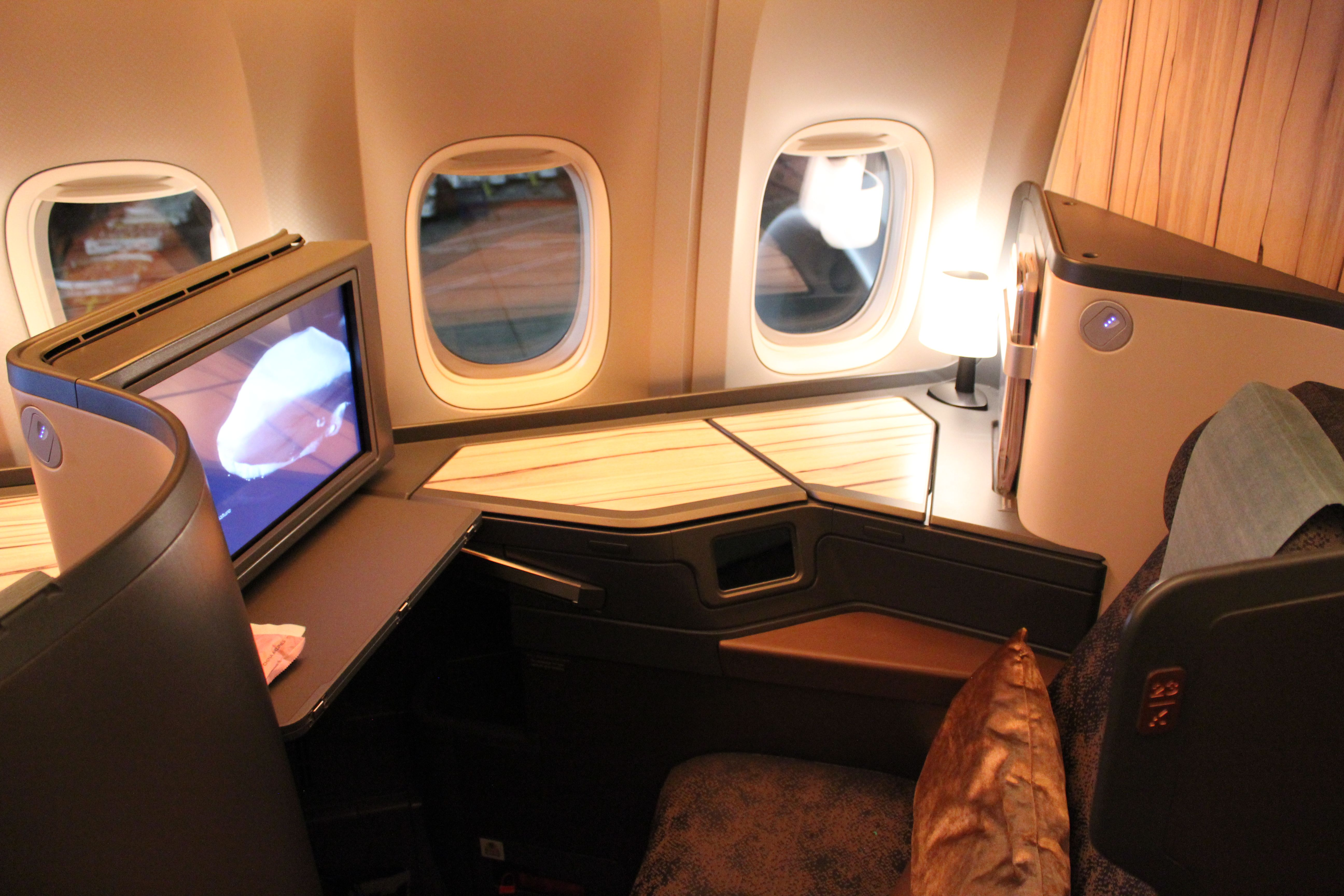 China Airlines 777 300er Business Cl Seat