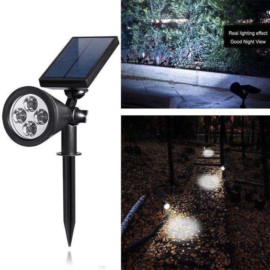 Solar 4 Led Outdoor Sensor Garden