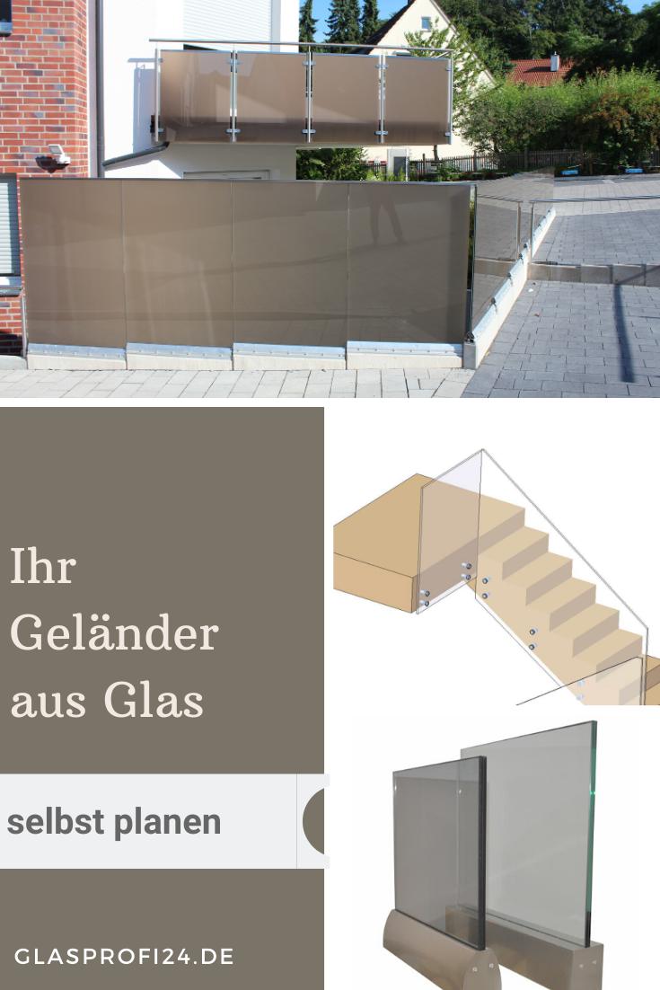 moderne Geländer und Brüstungen