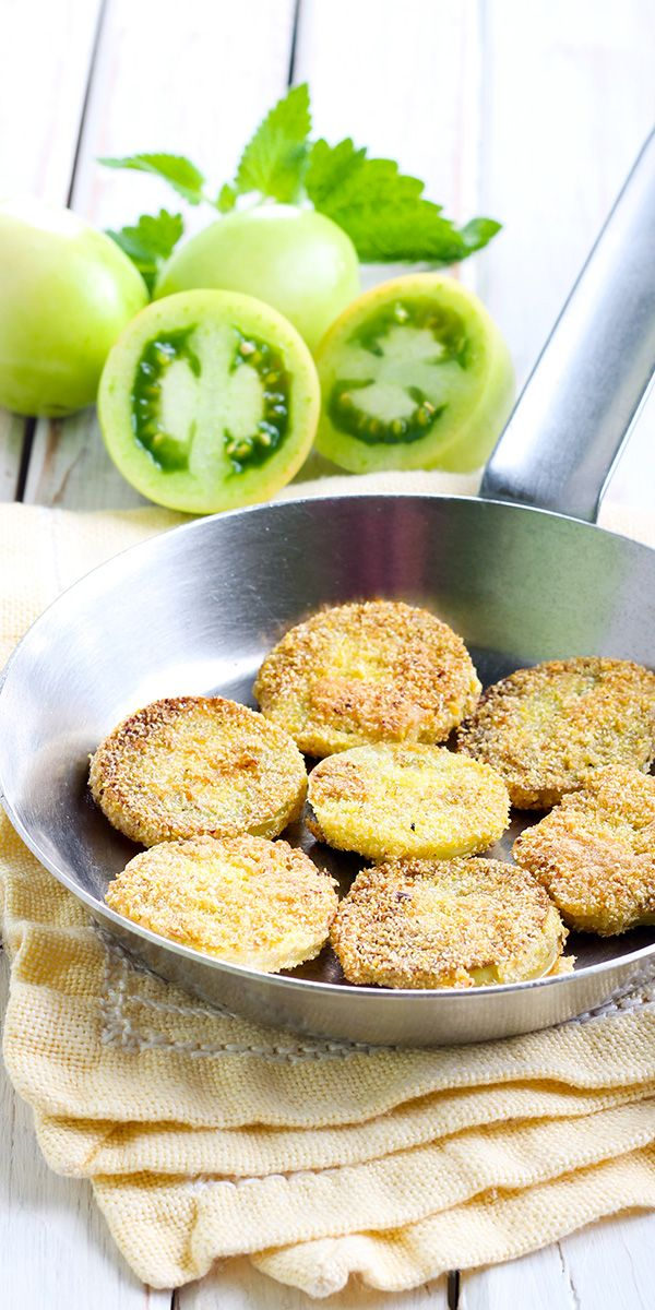 Extra virgin olive oil is one of your best options for frying. Try our fried green tomatoes recipe!