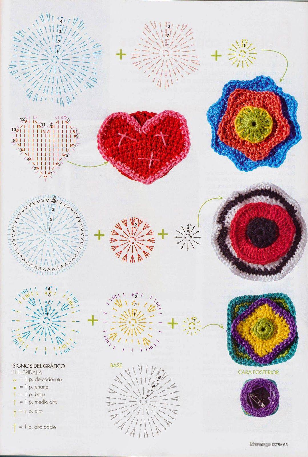 Revista de crochet moderna   crochet   Pinterest   Revistas, Moderno ...