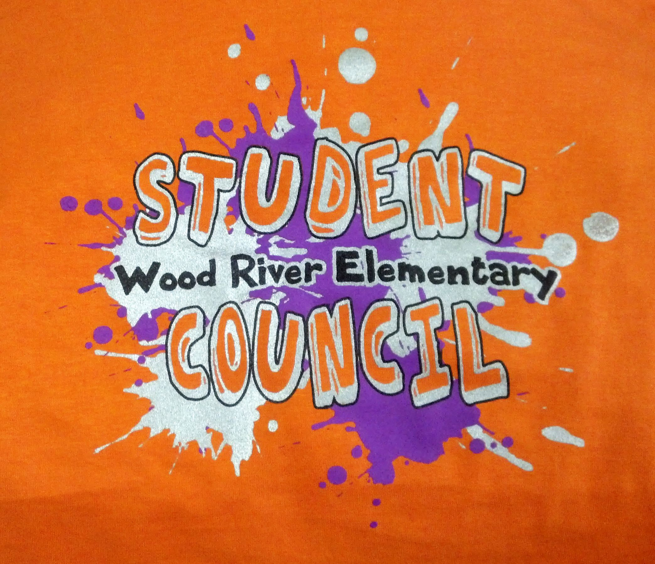 Wood River Elementary Student Council - apparel - t-shirt - tee ...