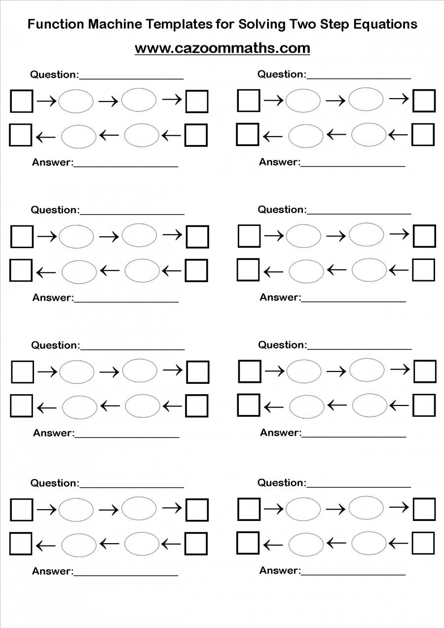 Fun Algebra Worksheets Algebra worksheets, Algebra