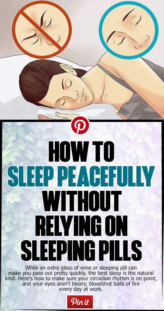 HOW TO SLEEP PEACEFULLY WITHOUT RELYING ON SLEEPING PILLS