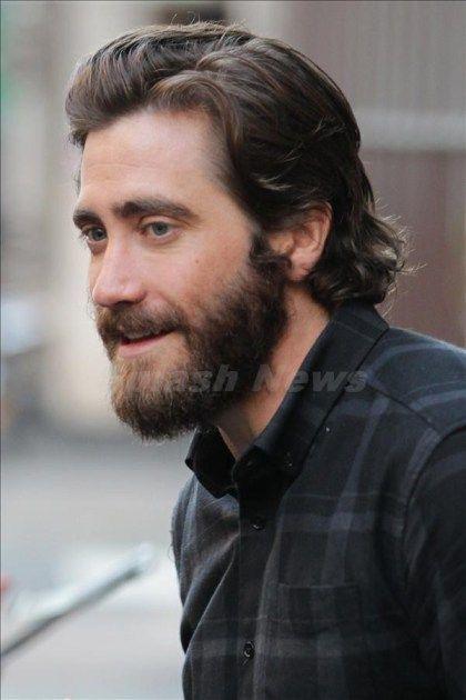 jake gyllenhaal long hair   google search moustache