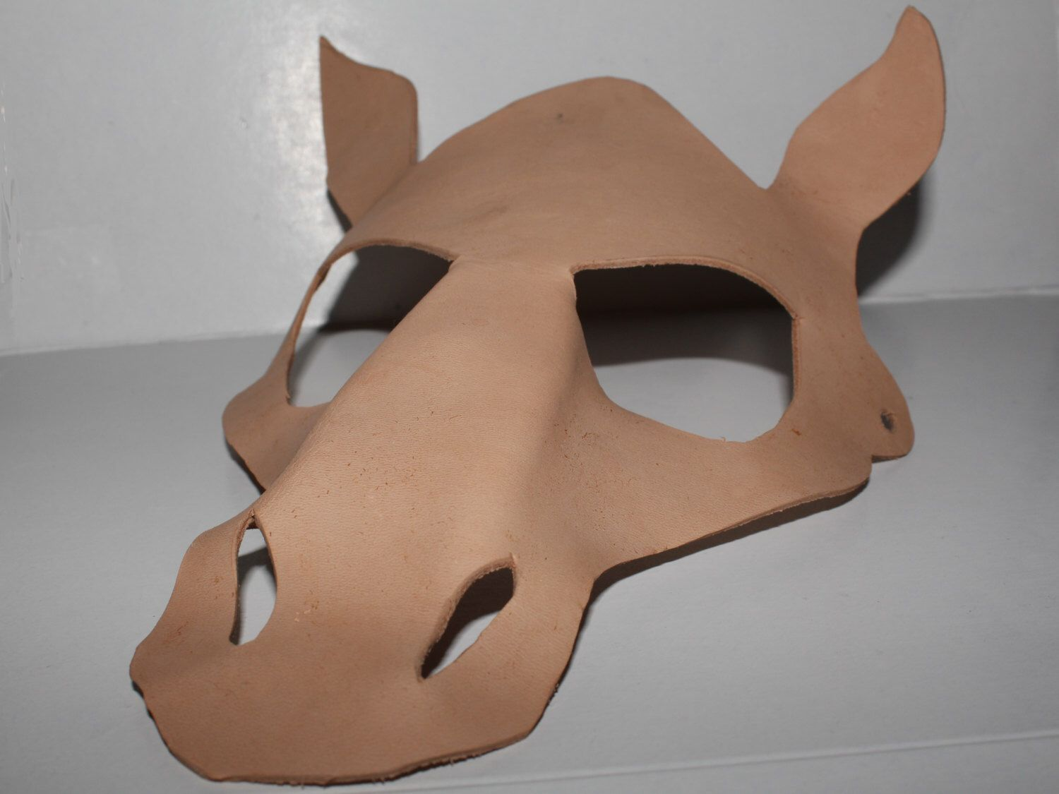 Diy horse mask diy project decorate your own leather mask diy horse mask diy project decorate your own leather mask leather animal solutioingenieria Image collections
