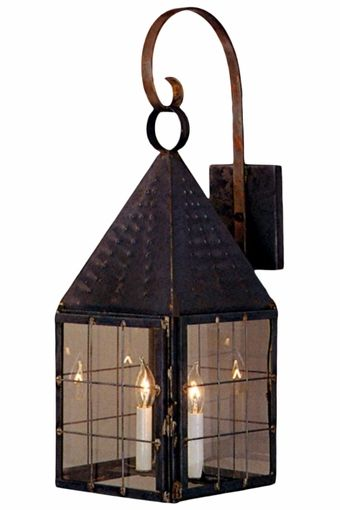 Colonial New England Lantern Wall Light