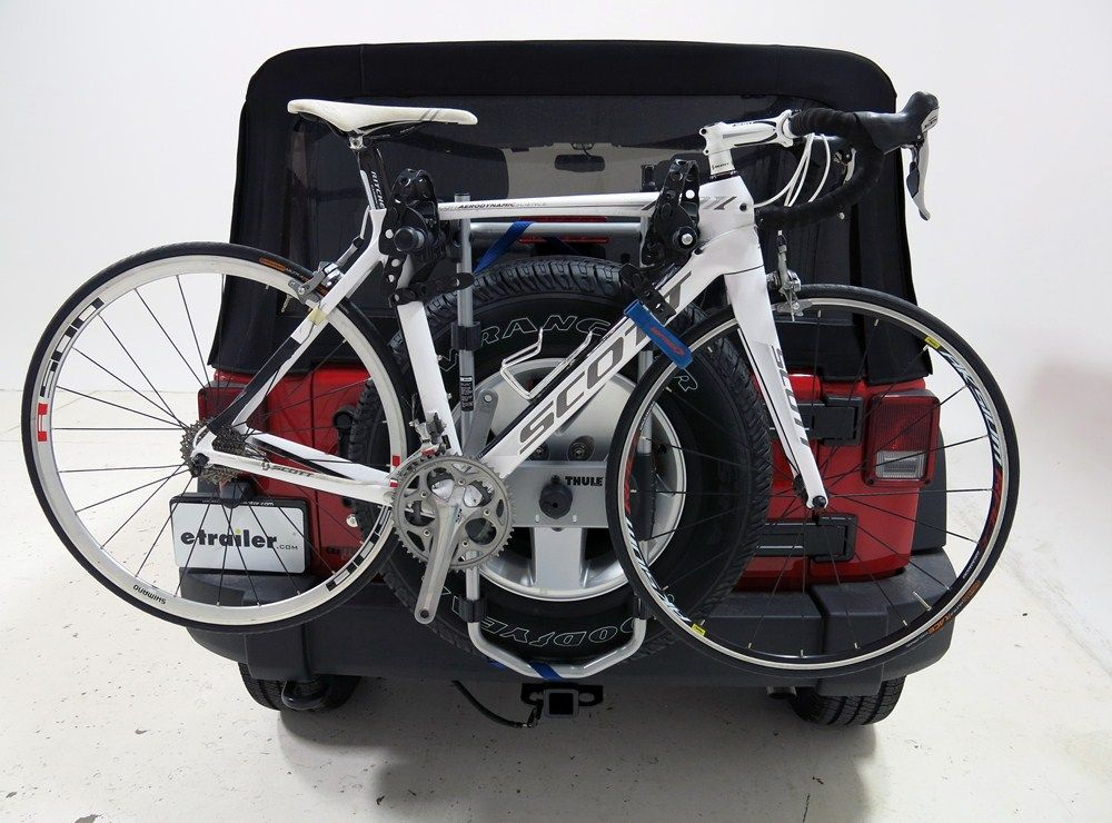 Thule Spare Me 2 Bike Rack Spare Tire Mount Folding Dual Arms Thule Spare Tire Bike Racks Th963p With Images Spare Tire Bike Rack Spare Tire Spare Tire Mount