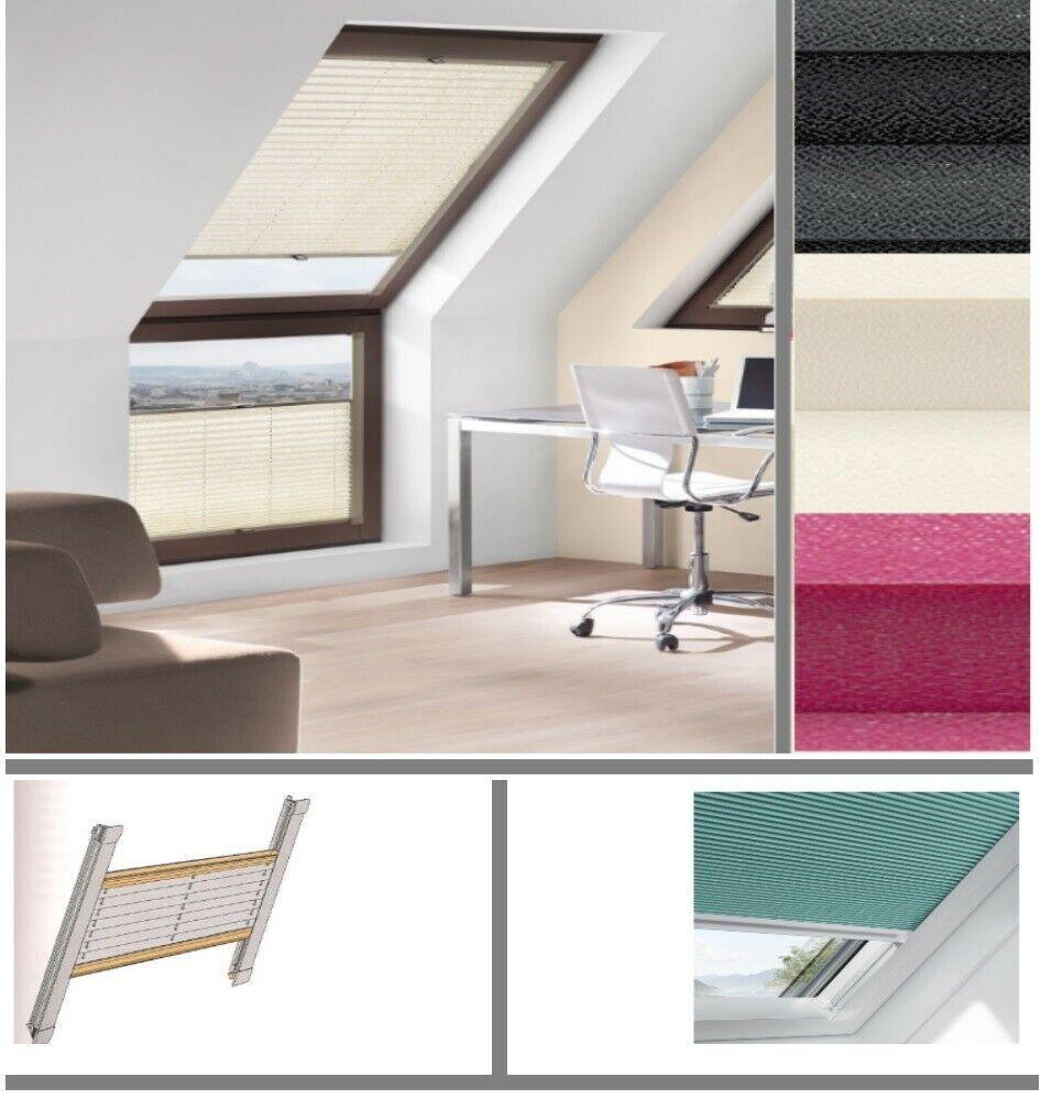 Details Zu Plissee Faltstore Jalousie Fur Velux Panoramafenster