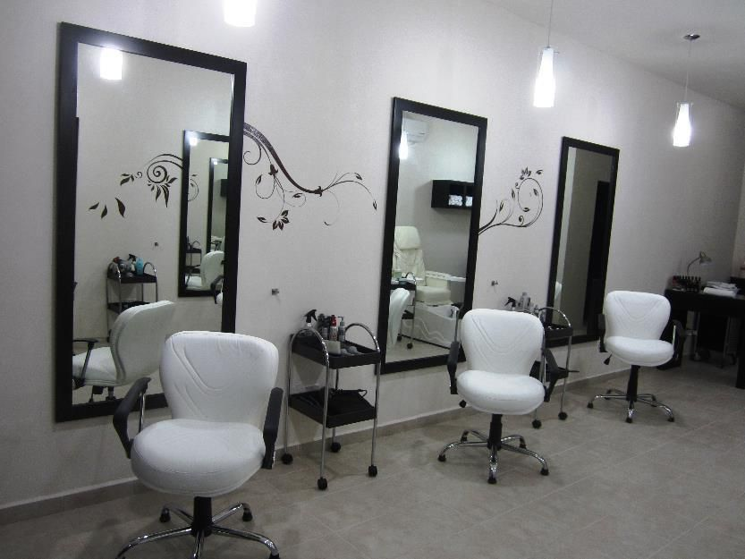 salon set up - Google Search | Salon | Pinterest | Salons