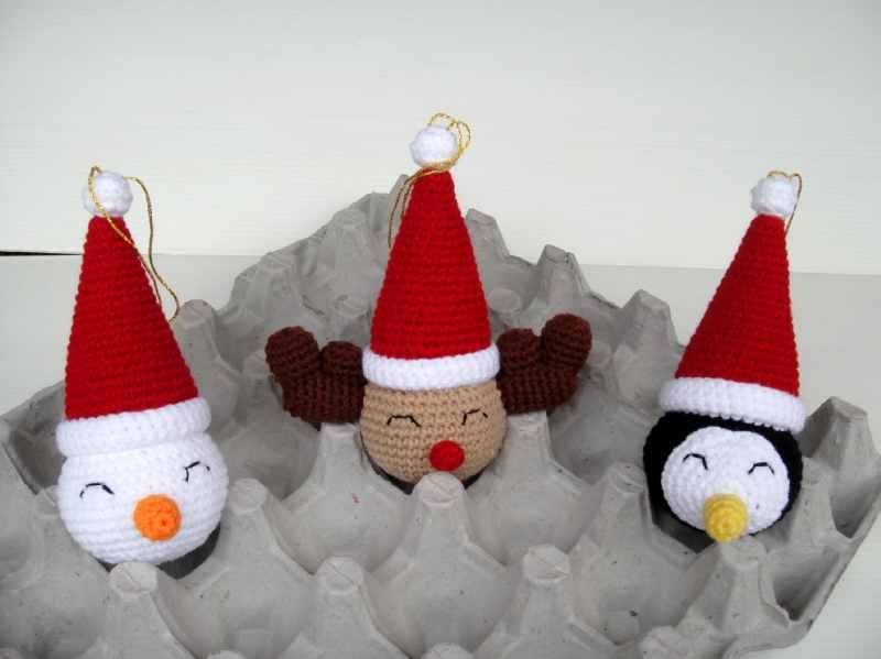 Over 100 Free Crochet Christmas Ornaments Patterns at AllCrafts