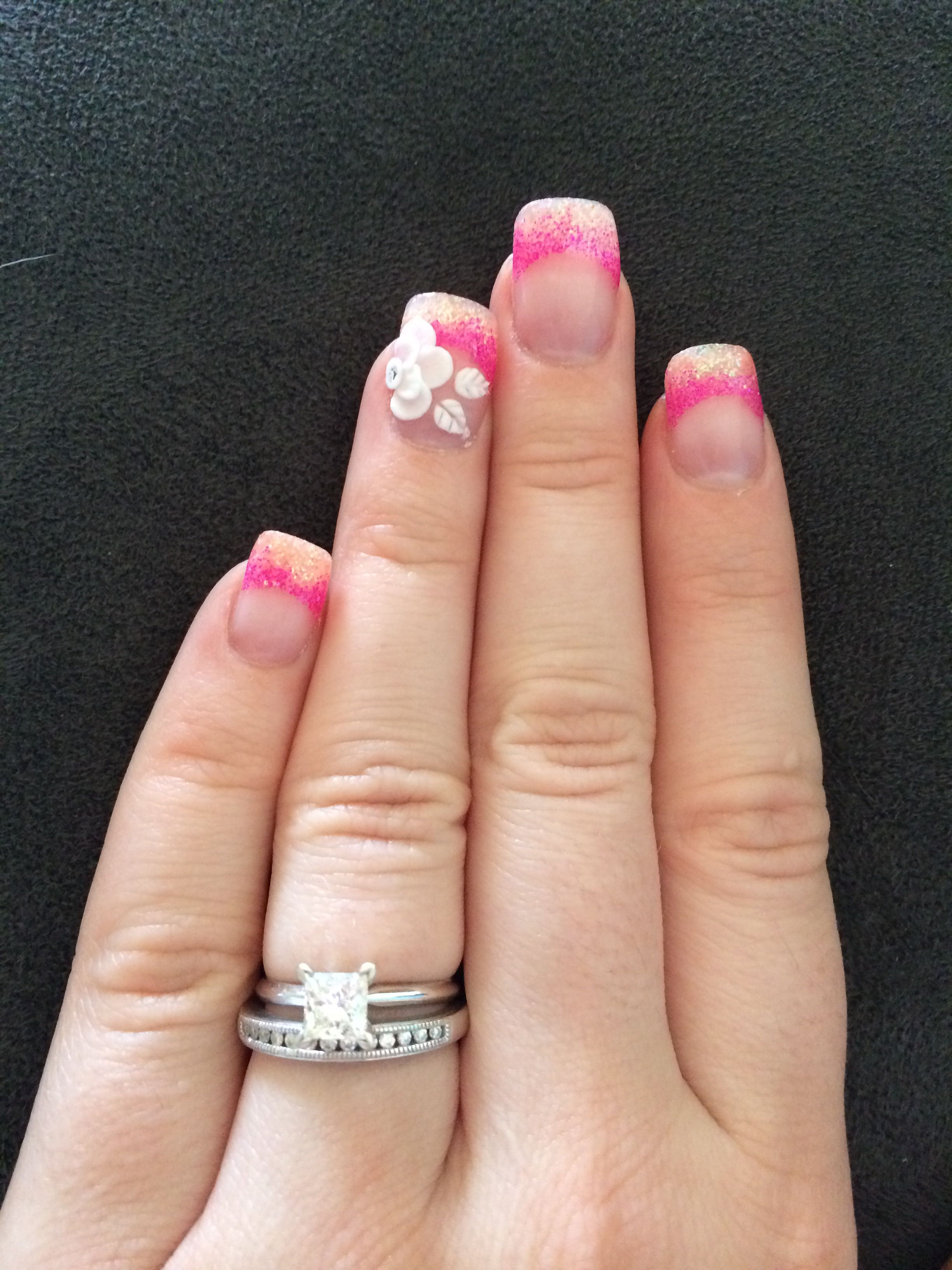 Spring Nails Absolutely Love Them By Cassidy At Designer Nails