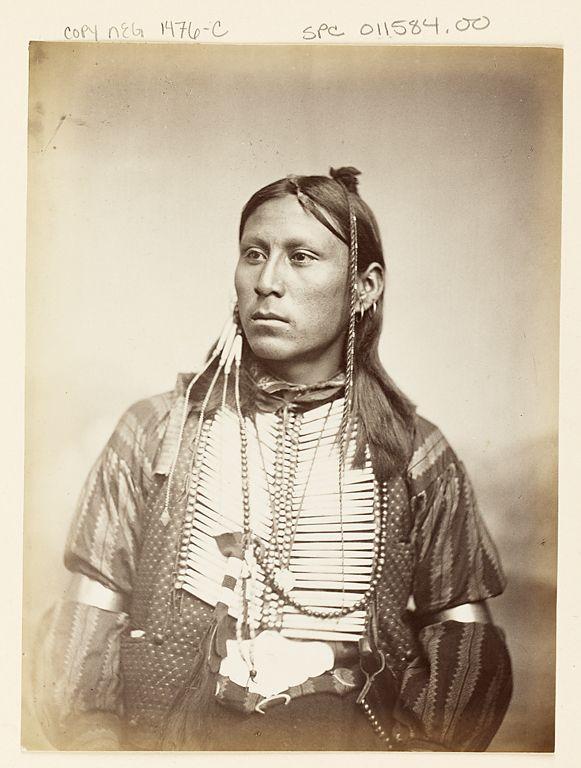 Photo ca 1864 Kiowa Indian Chief /'Satanta/'