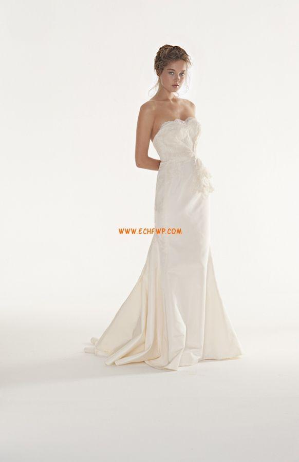 Taft Elegantní   luxusní Krajka Levné svatební šaty  5e70bae5aa