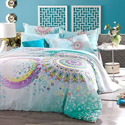Style Bedding Set Bohemian Duvet Covers Pea Unique Designer Sets Ropa De Cama Paisley Colorful Cover
