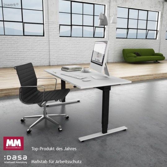 Neu: Steh-Sitz Schreibtisch Inwerk Masterlift 2 | Bluetooth