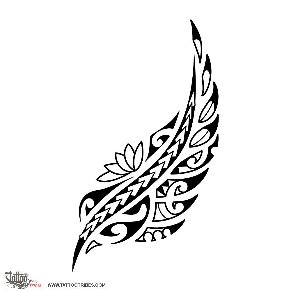 kaponga silver fern this tattoo requested by alexandre is shaped after the adult fern and a. Black Bedroom Furniture Sets. Home Design Ideas