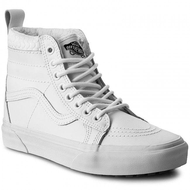 Sneakersy VANS - Sk8-Hi Mte VN0A33TXOQA (Mte) True White Mono ... 522fc85f7