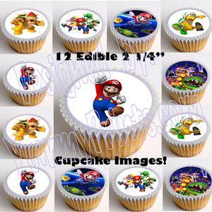 Edible Cake Topper OR Cupcake Topper Decor Hotel Transylvania