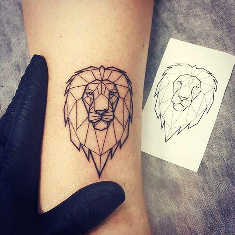 Lion Tattoo 3 Tattoos Tattoos Lion Tattoo Geometric Lion Tattoo