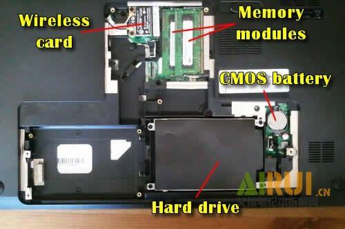 how to disassemble the hp pavilion dv7 laptoplaptop repair manual rh pinterest com hp pavilion dv7 manuel hp pavilion dv7 manual