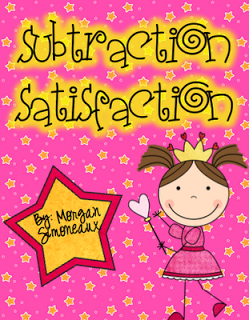 First Grade Fresh: Subtraction Satisfaction Work Station Packet