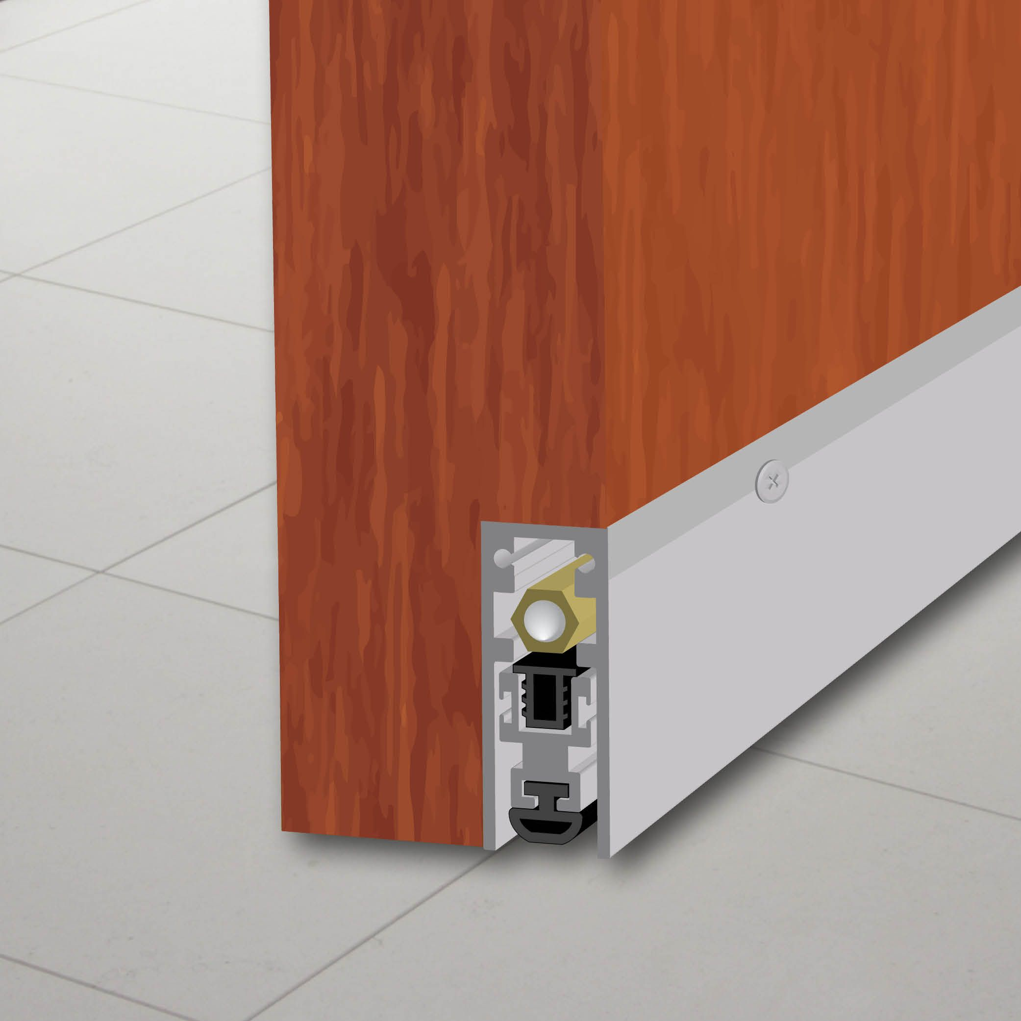 7253 Semi Mortised Automatic Door Bottom Purchase From Legacy Llc Automatic Door Door Sweep Sound Proofing