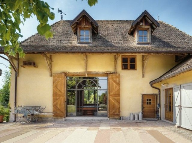 barn as house Lake House Pinterest Maisons de charme - decoration pour porte d interieur