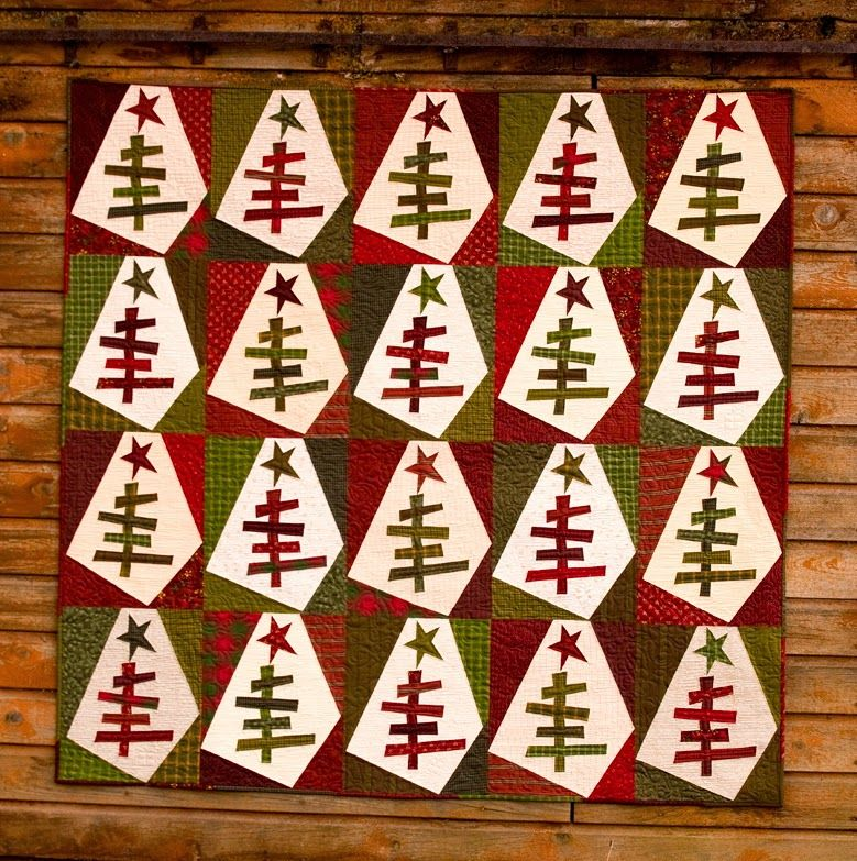 Continually Crazy Christmas Tree Quilt Holiday Quilts Country Quilts
